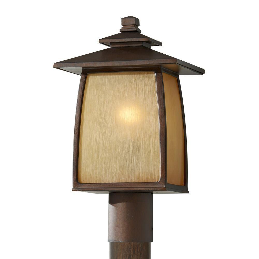 Feiss Lighting Feiss Lighting Wright House Sorrel Brown Led Post Light Ol8508sbr Led Outdoor Post Lights Lamp Post Lights Post Mount Lighting