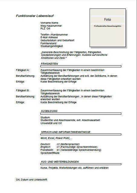 Cv Template Germany Cv Template Pinterest Resume format
