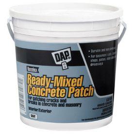 Shop Dap 128 Oz Ready Mixed Concrete Patch At Lowe S Mix Concrete Painted Concrete Floors Concrete Stained Floors