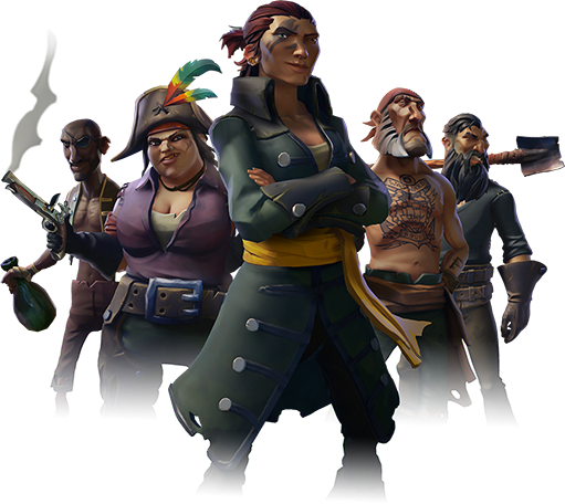 Microsoft Executive Says Sea Of Theives Will Be Rare S Best Game Sea Of Thieves Pirates Pirate Art