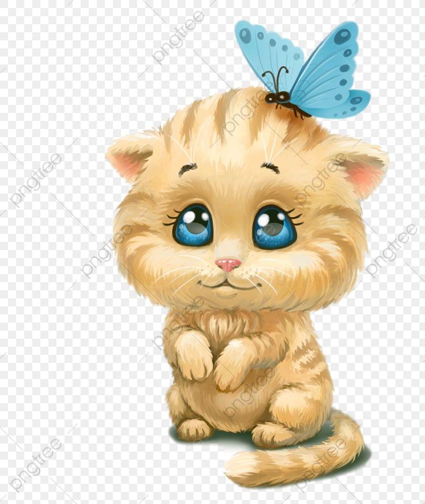 Lindo Gatinho Com Borboleta Lindo Gatinho Com Borboleta Animal Hd Free Png Png Imagem Para Download Gratuito Gatos Baloes Redondos Gata Linda
