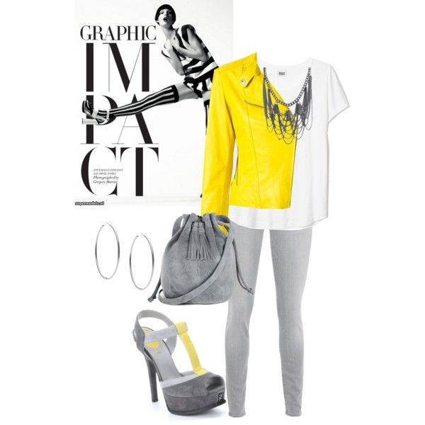 A fashion look from March 2015 featuring P.A.R.O.S.H. jackets, 7 For All Mankind jeans and Fendi sandals. Browse and shop related looks.