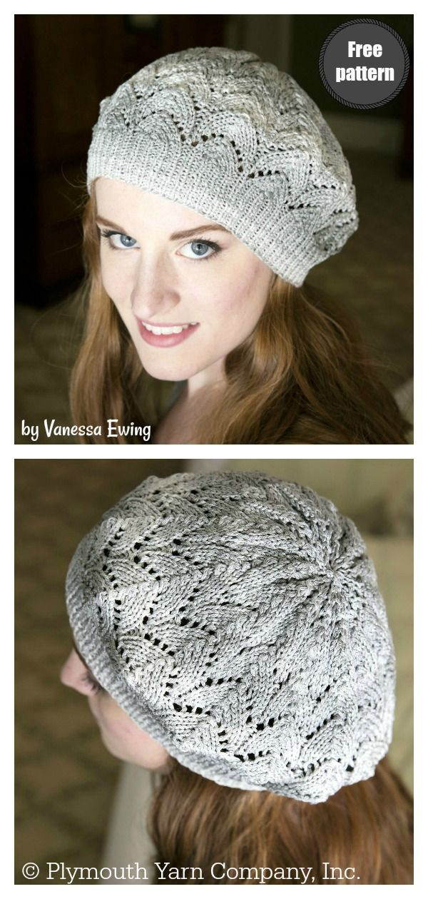 Simple Slouch Hat Free Knitting Pattern