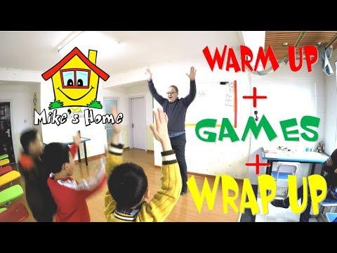 Warm Up + Games + Wrap up DEMO class Teaching English