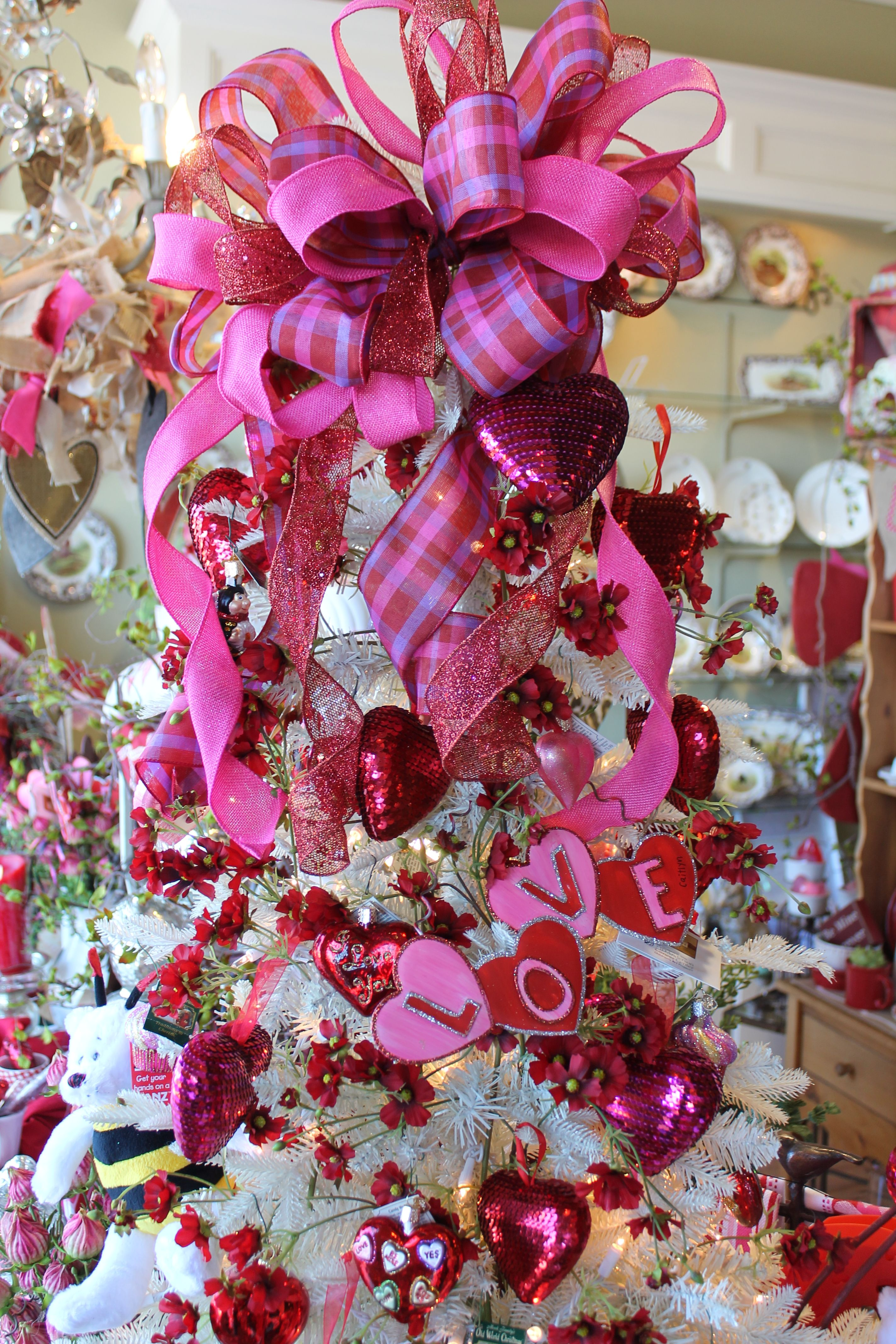Valentine S Day Tree Heartworks Pinterest Valentines