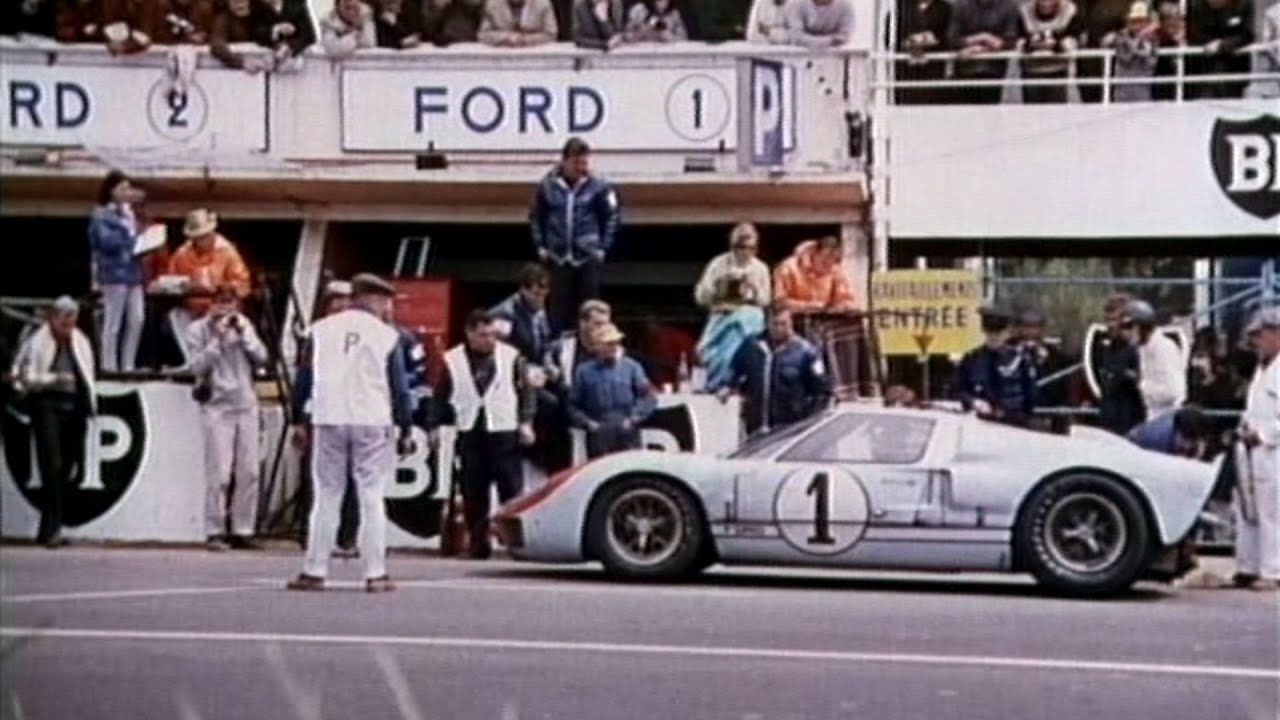 This Time Tomorrow The 1966 Le Mans Documentary Le Mans Ford Gt40 Ford Gt