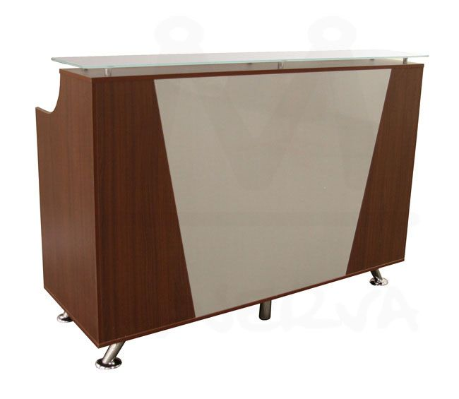 "$419 free shipping 48"" x 23"" Reception Desk in Cherry"
