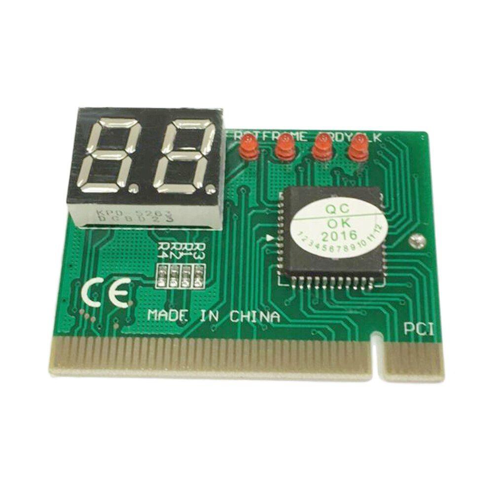 PCI Diagnostic 2-Digit Card Motherboard Post Tester Analyzer Checker Laptop HA