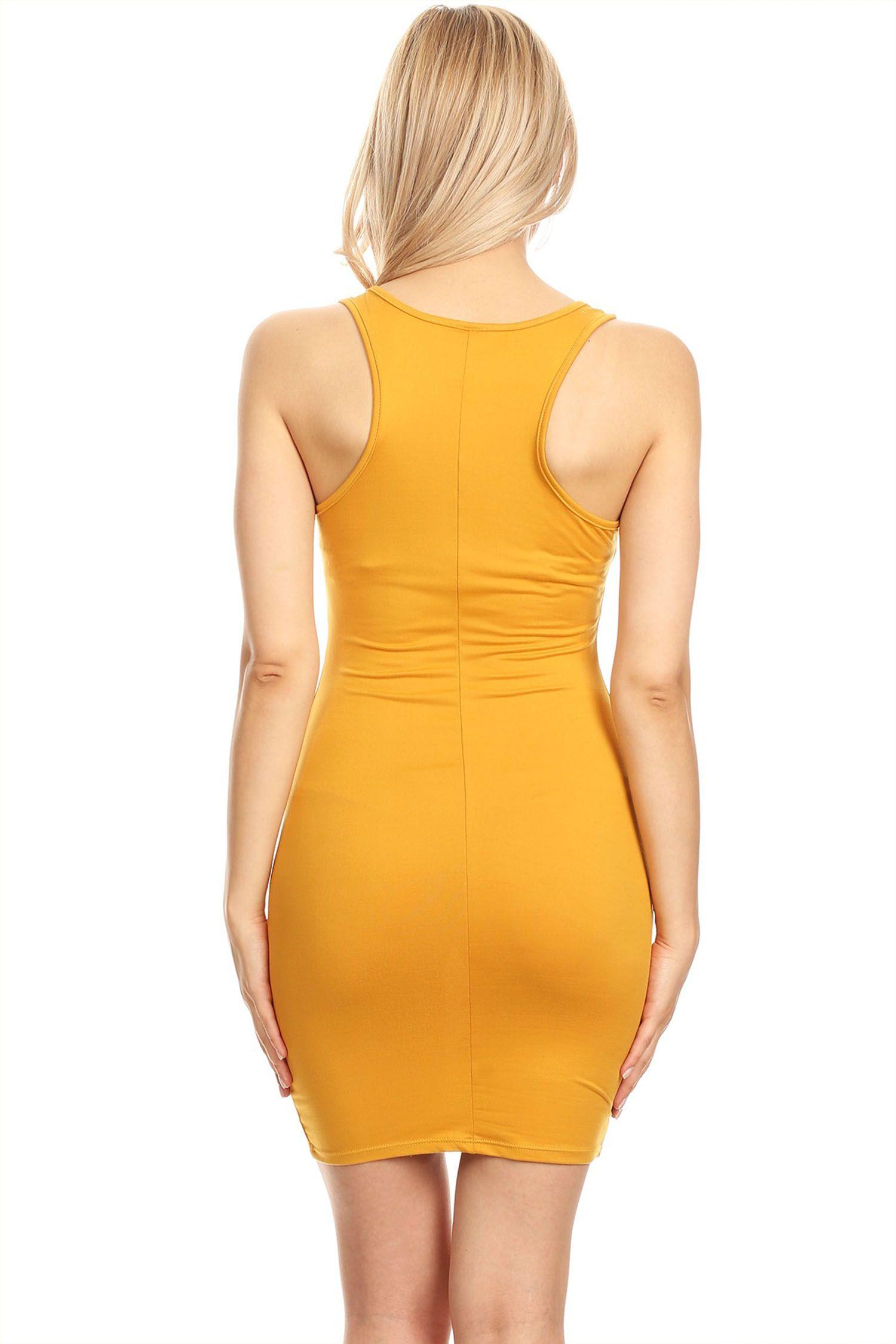 Moa Collection Women S Solid Color Racerback Tank Style Bodycon Dress Walmart Com Bodycon Dress Dresses Racerback Tank Dress [ 2250 x 1500 Pixel ]