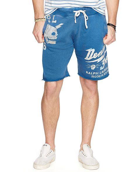 2fdbf372827 Cutoff French Terry Short - Denim & Supply Shorts - RalphLauren.com ...