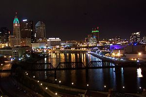 Downtown Columbus Oh Here I Come Night Skyline Skyline City