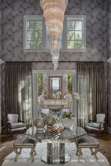 Jeff Andrews Design Portfolio Interiors Contemporary Foyer