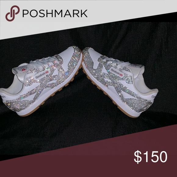 Custom Reebok w/Glass Crystals | Reebok