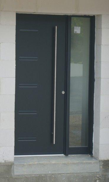La porte d\u0027entrée a été posée ! -   surzurcmomonblogmaison