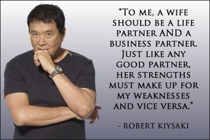 Be a good partner   Life partners Wisdom Personal finance