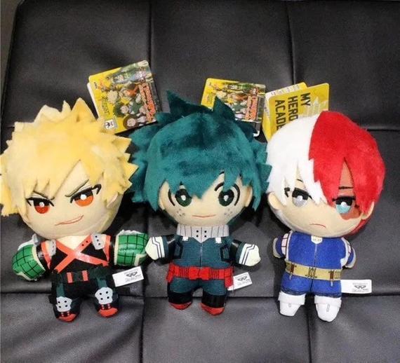 My Hero Academia Boku Academia Girl/'s Plush Toy Doll Gifts Bakugou Shoto Izuku