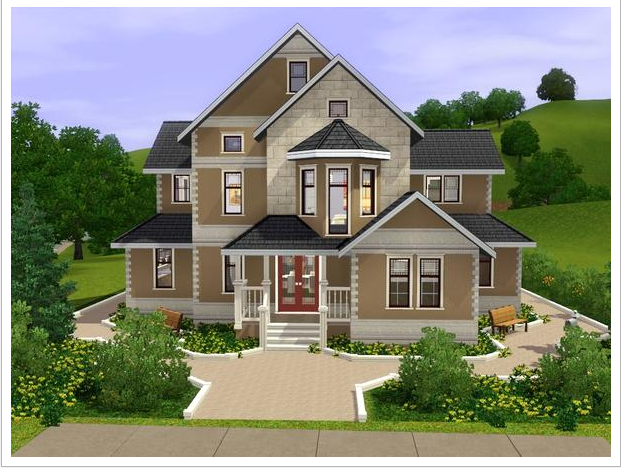 Sims 3 House Sims 4 Casas Casas Planos De Casas