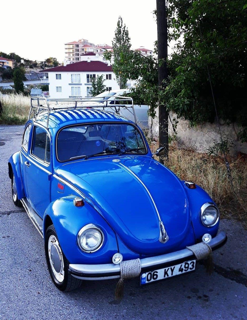 Blue Beetle Cars : beetle, Tomás, Alberto, Vosvoslowe, Volkswagen, Beetle,, Volkswagen,