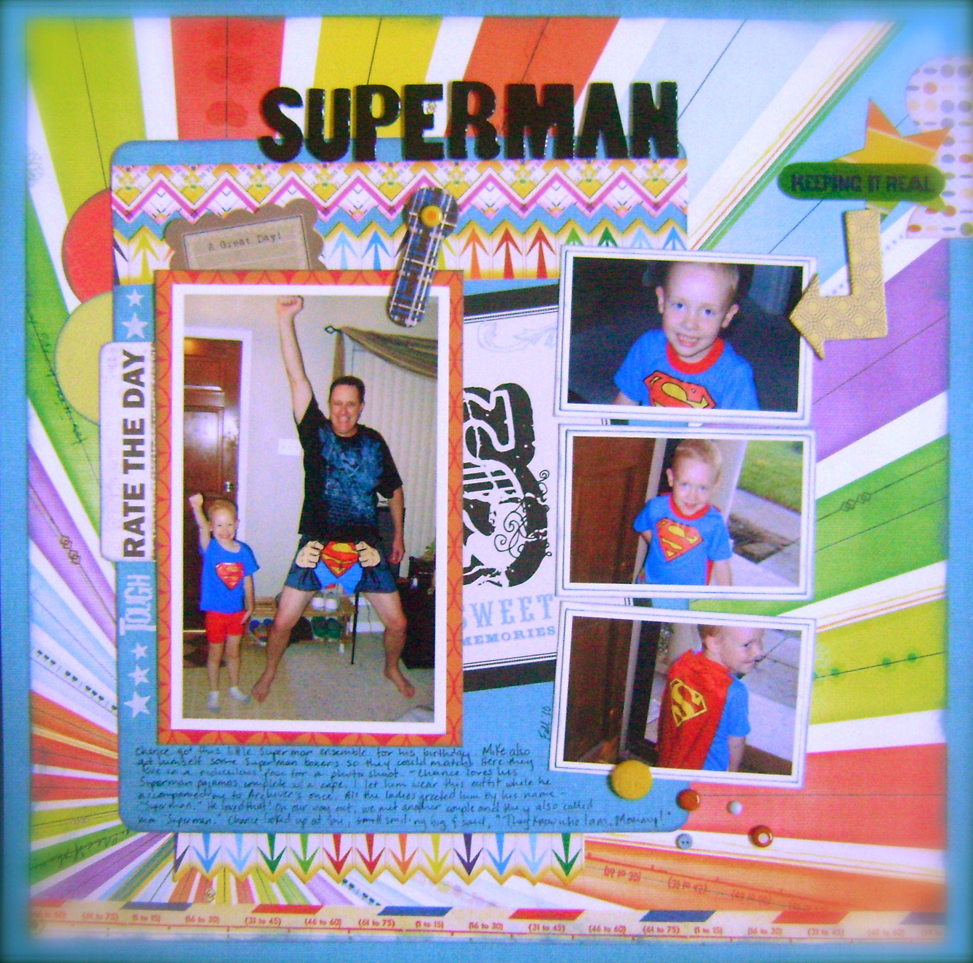 superman - Scrapbook.com
