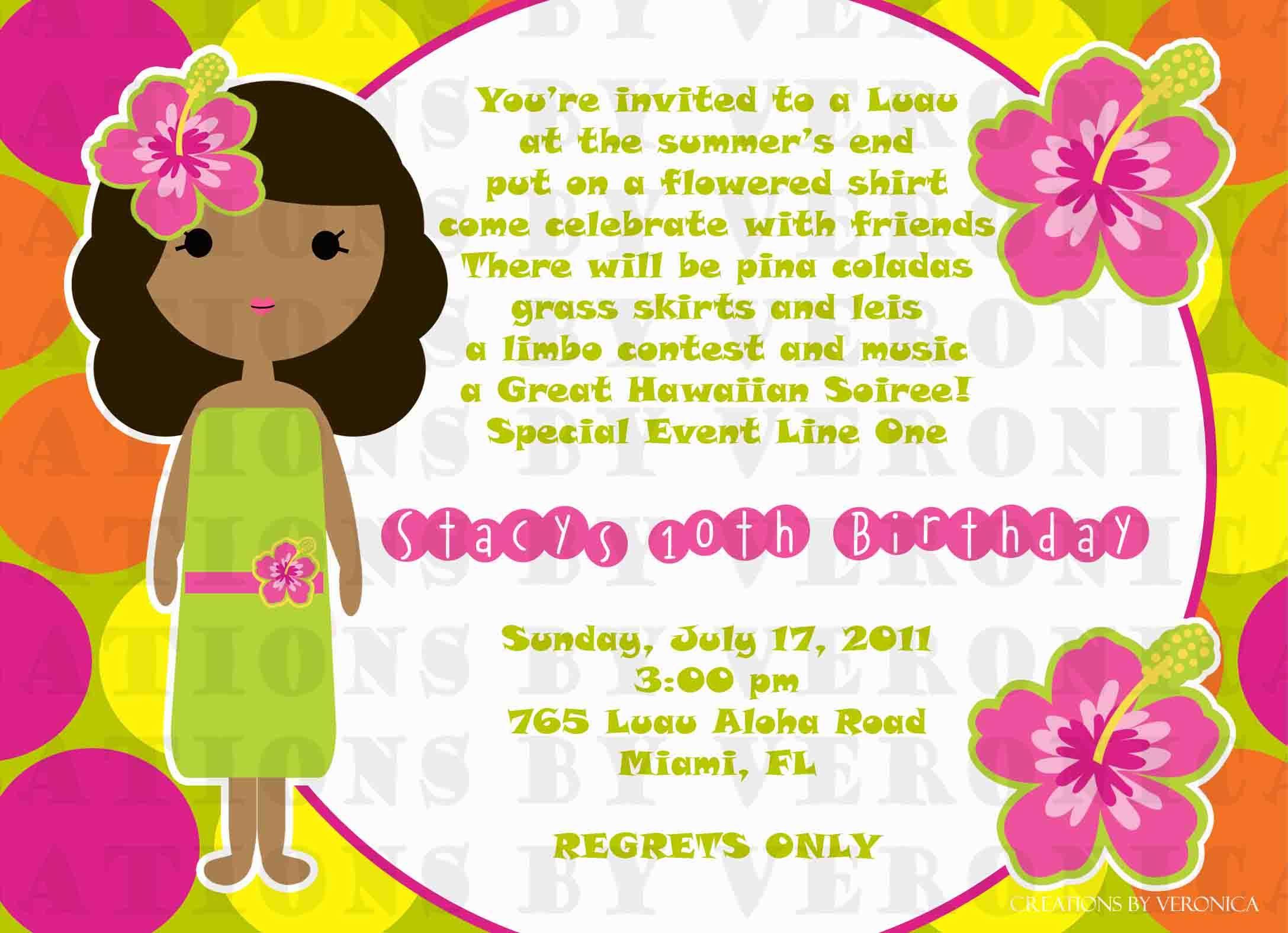 luau invitation wear your luau Google Search special board