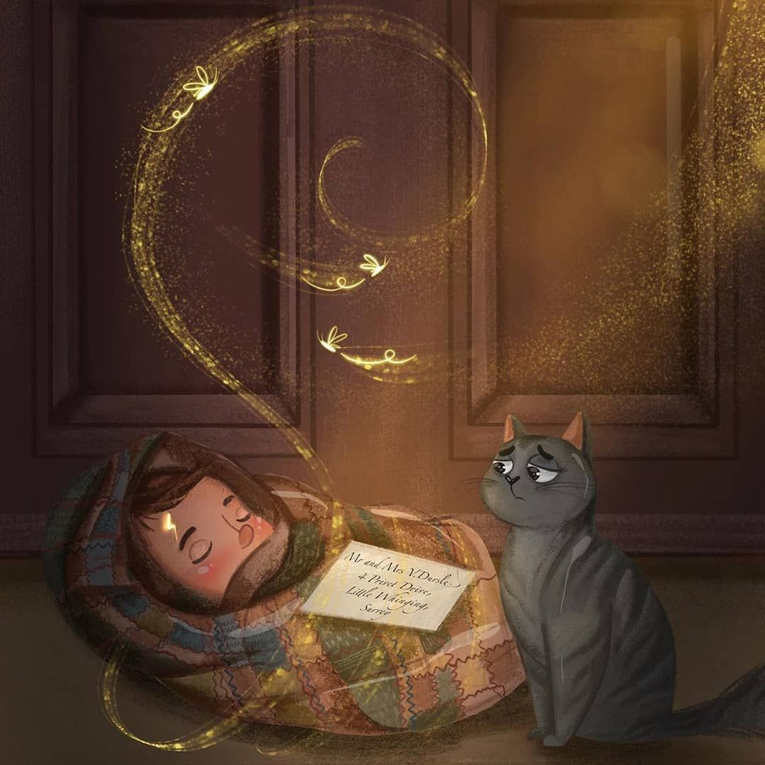 "Harry Potter Art on Instagram: ""What is the date of Harry Potter's birthday? 📸: @jnlart —— [#harrypotter #hermionegranger #ronweasley #hogwarts #gryffindor #hufflepuff…"""