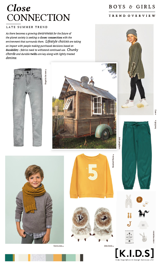 Childrens Fashion Trends Fall 2020.K I D S Autumn Winter 2019 20 Trend Publication Now