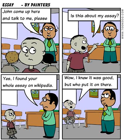 Humorous college admission essay