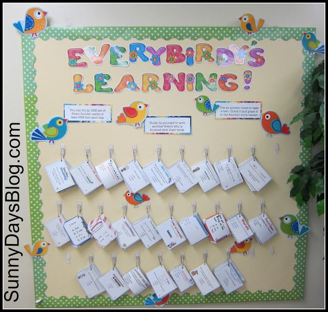 Classroom Hook Ideas : How to keep task cards visible and being used all the time