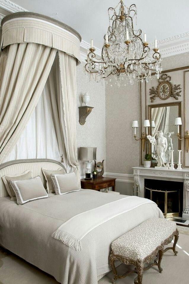 Bedroom Glam Master Bedrooms Pinterest Deco romantique