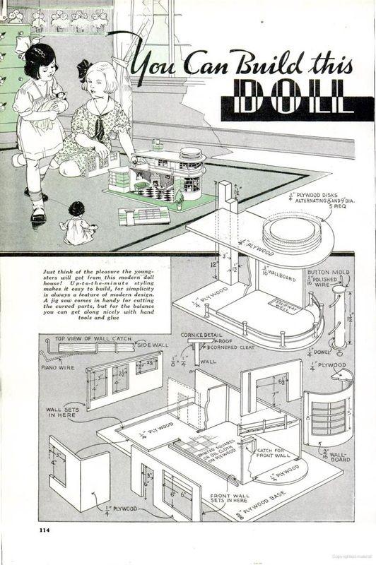 Popular Mechanics Plans