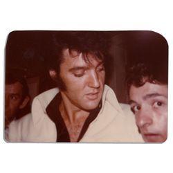 Elvis Presley Candid Photo Circa 1970's