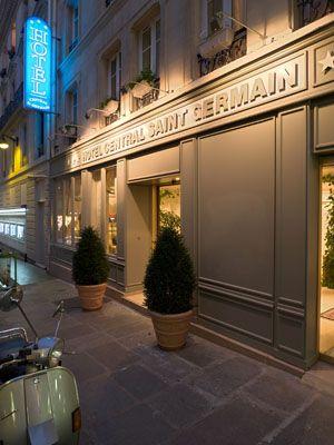 Facade Hotel Central Saint Germain Facade Awnings Paris Hotels