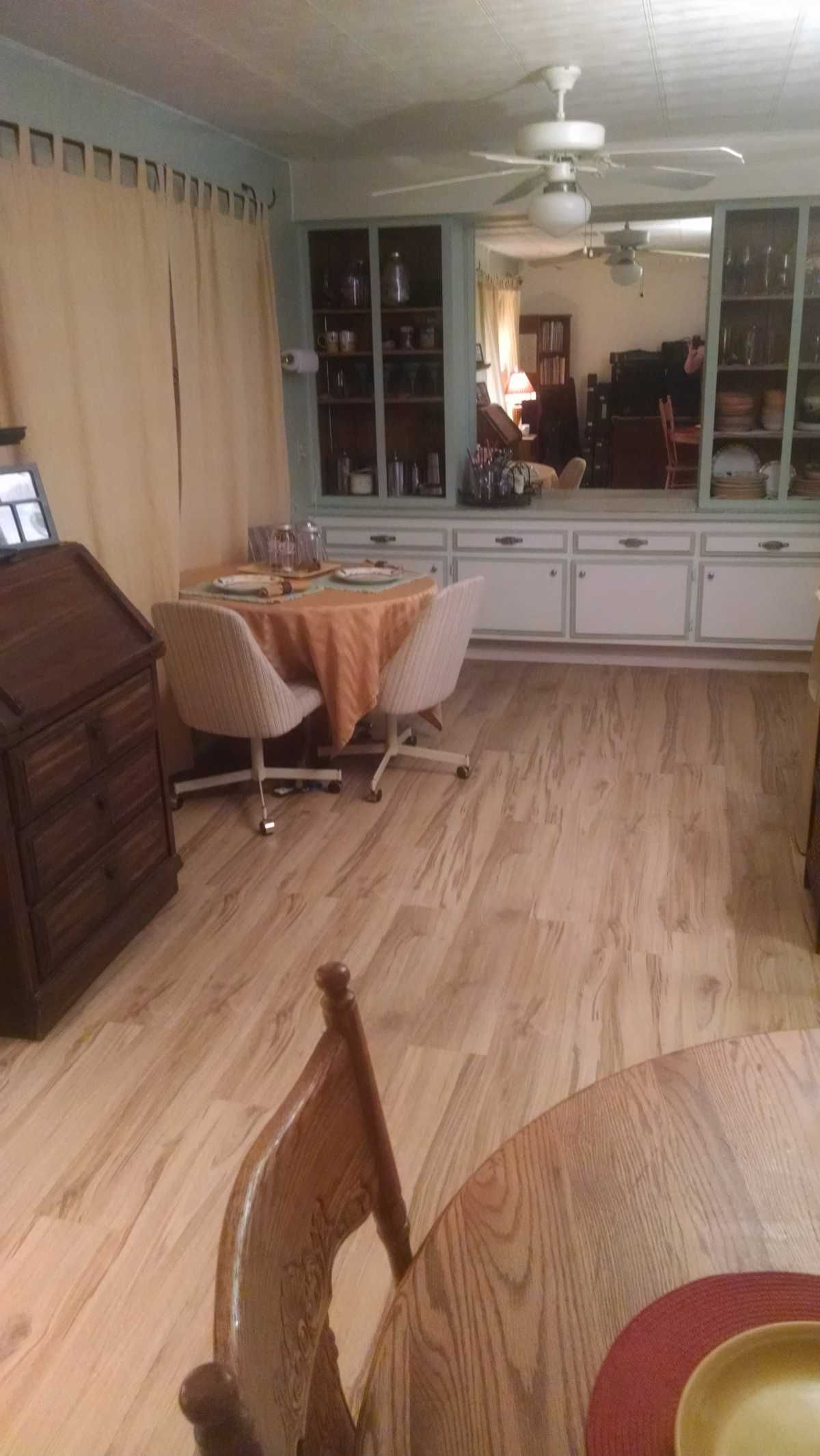 Built In Cabinet in Dining 1970 Golden West Mobile Home ...