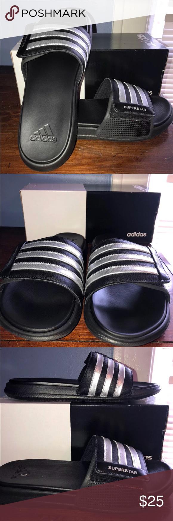 2f364fb44a3e8 Adidas Superstar 4G Men s Slides SZ 11 Men s Adidas Superstar 4G Slides Size   11 Condition