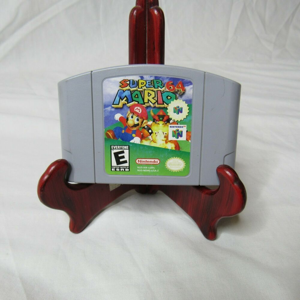 Had My Super Mario 64 Cartridge Signed By Charles Martinet Super Mario Super Mario World Mario