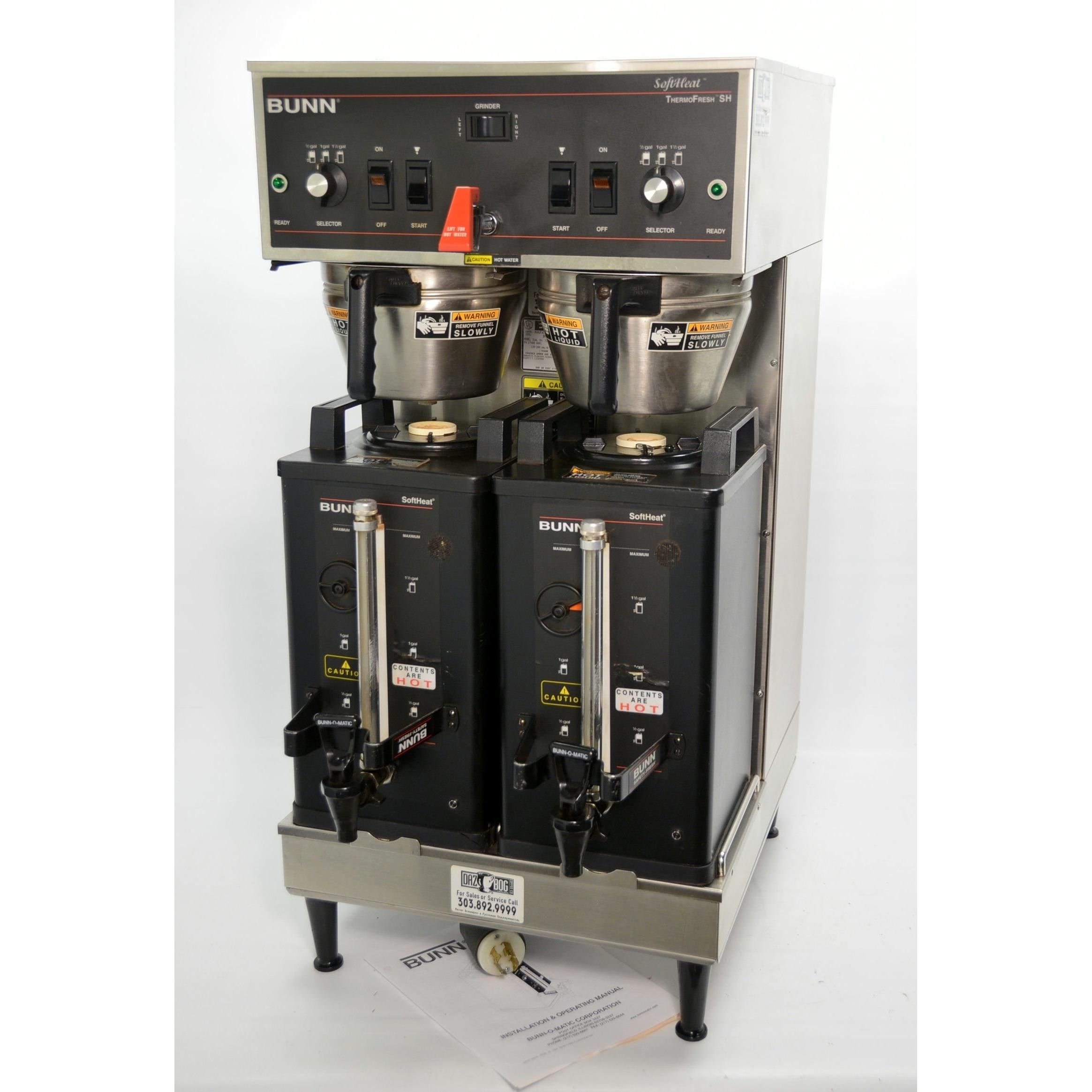 Used Bunn 27900.0001 Coffee Brewer For Satellites High Quality Goods Business & Industrial Restaurant & Food Service