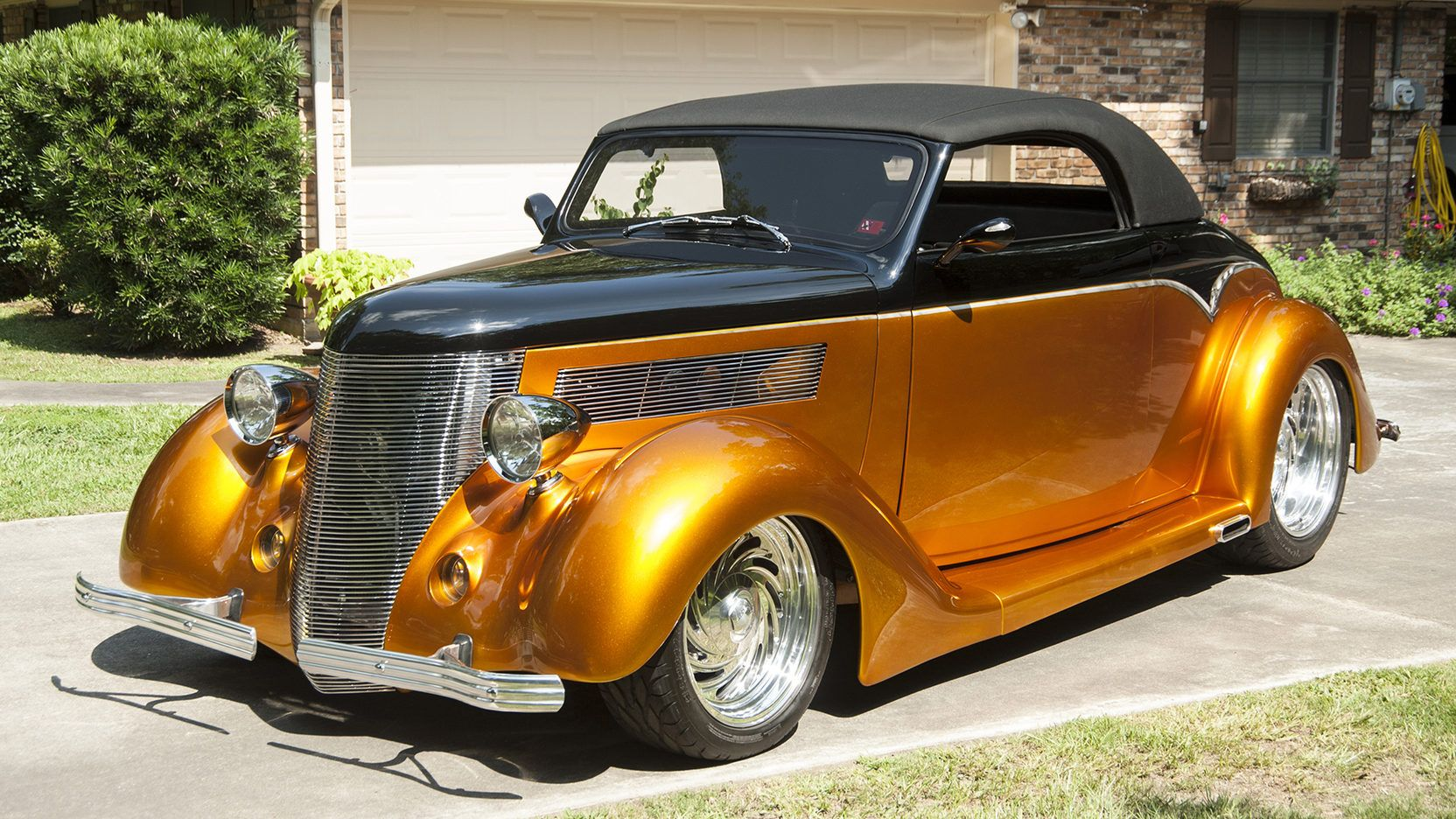 1936 Ford Cabriolet Street Rod presented as Lot S151 at Dallas, TX ...