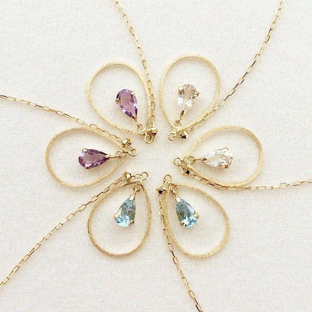 flower of pierced earrings! #tocca #japan