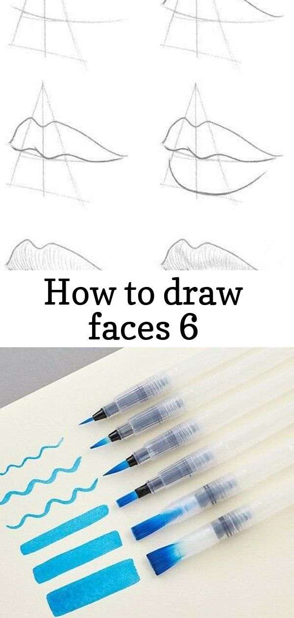 How to draw faces 6 How To Draw Faces - diy Thought  First of all Happy womansday everybody !! I noticed that I got a bit sloppy while drawing