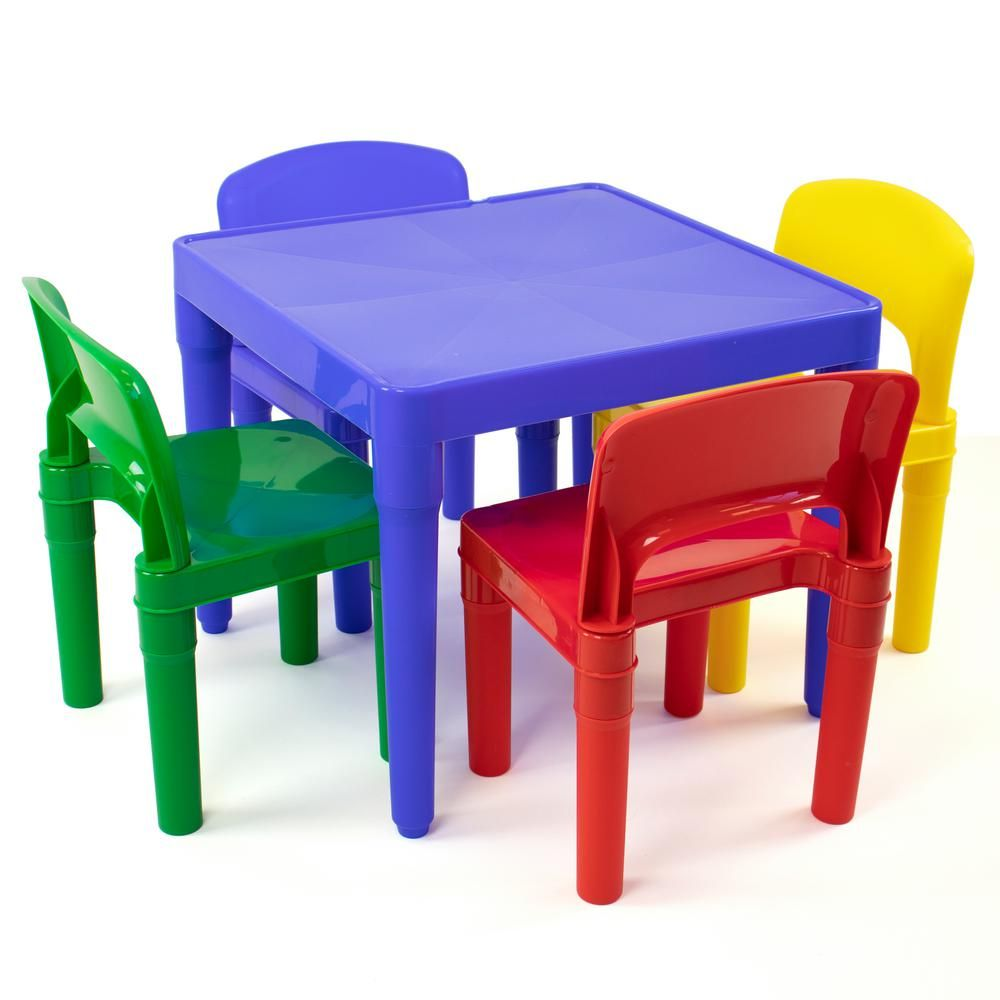 Kids Table Chairs Plastic Set Children Chair Play Activity Furniture Desk Child Kids Table Chairs Plas Plastic Tables Kids Table And Chairs Childrens Toy Boxes