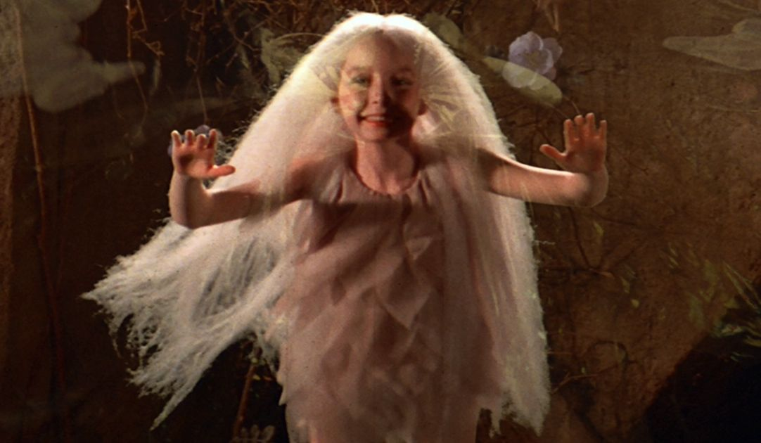 Natalie Finland as The Fairy in Labyrinth. | Labyrinth