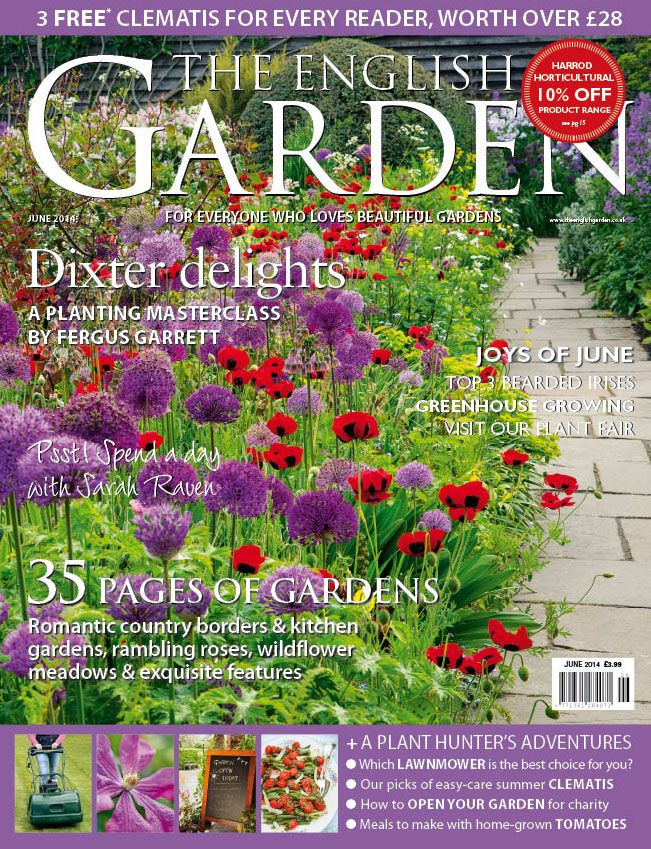 The June 2014 Issue Of The English Garden Magazine Features