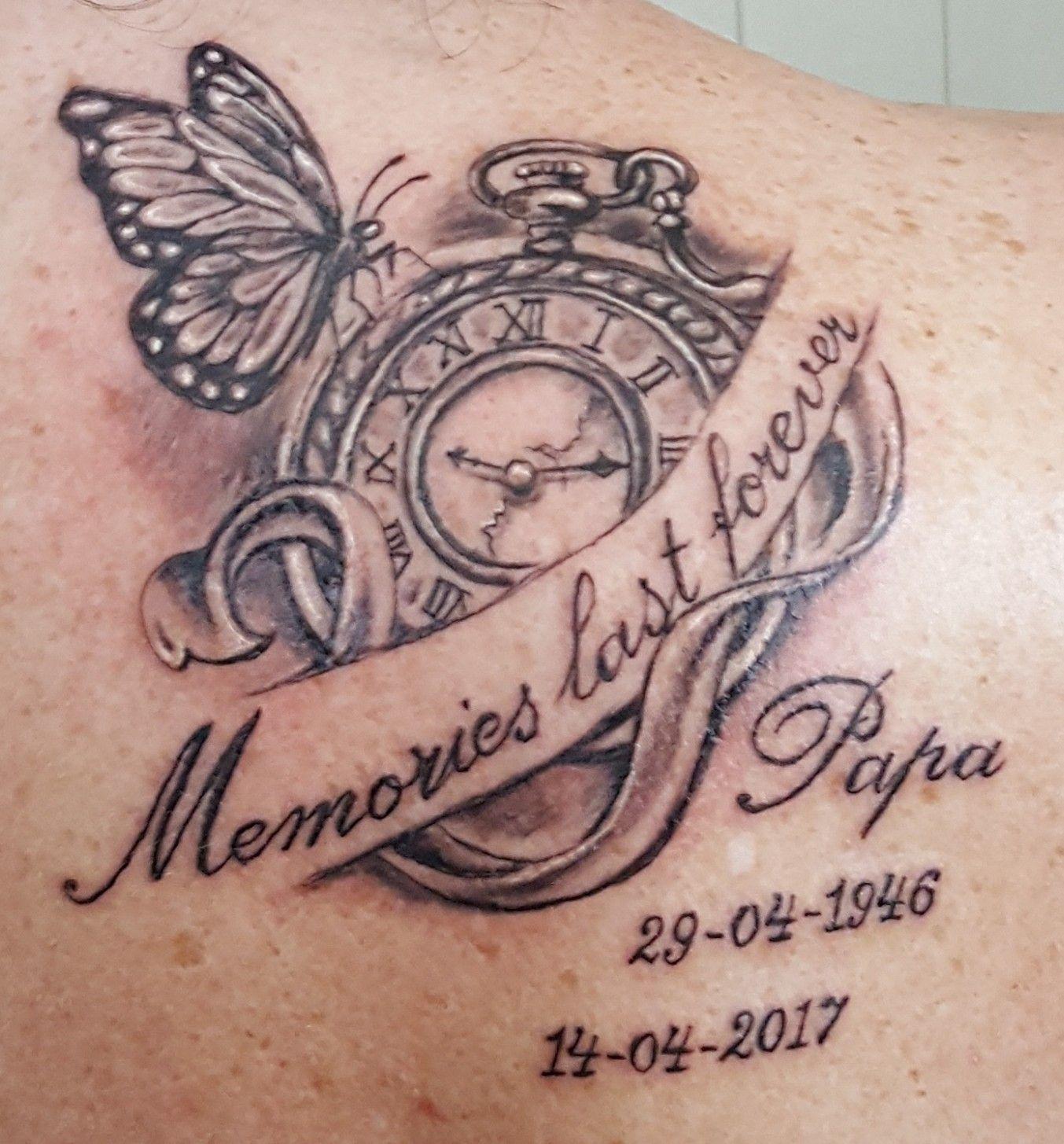 Tattoo Memories Last Forever Missing Dad Tattoo Dad
