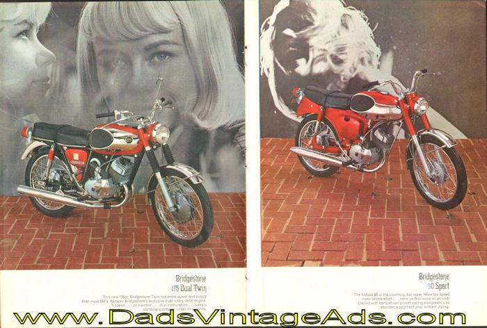 Bridgestone Page Motorcycle Brochure Bridgestone AGo - Bridgestone custom stickers motorcycle