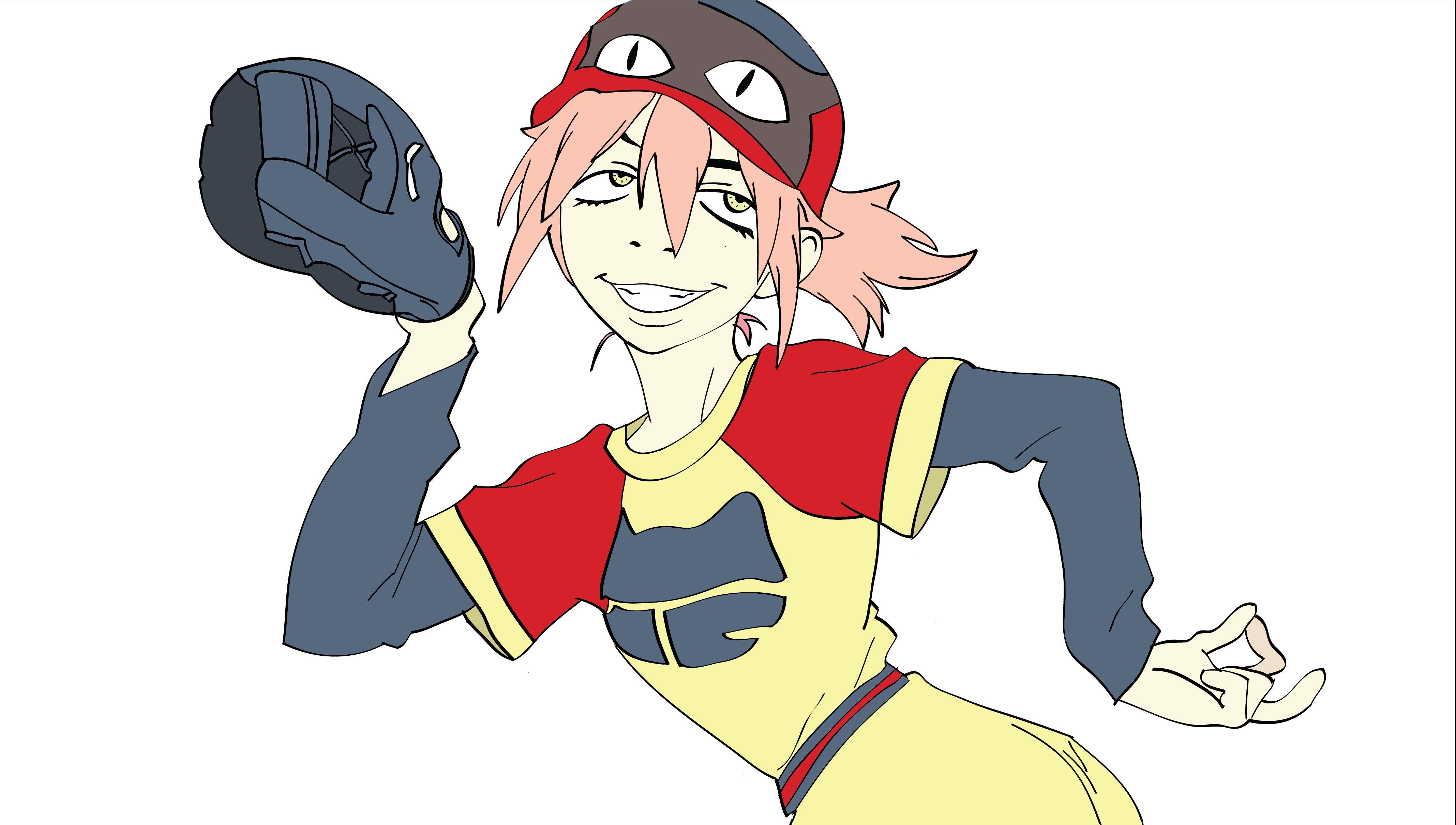 Haruko haruhara uniforme de beibol flcl cosplay anime manga cosplay - Flcl haruko haruhara ...