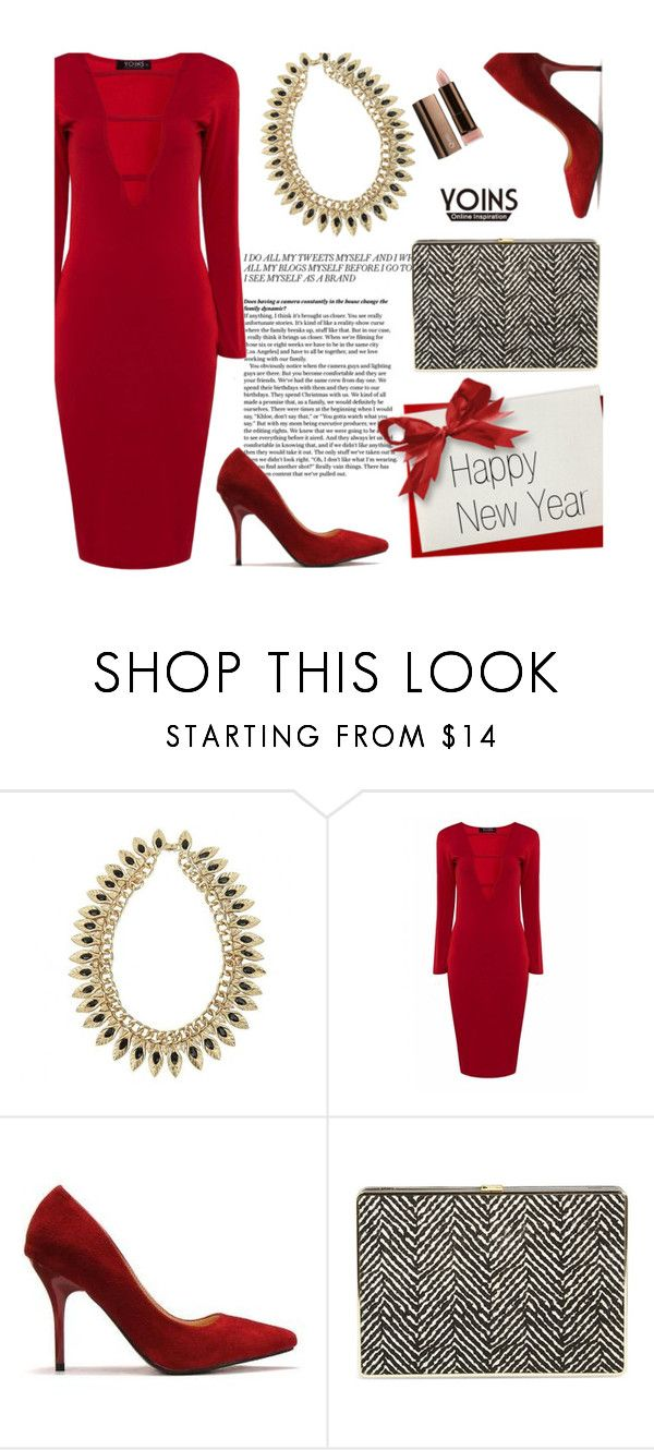 """Yoins 28/3.3"" by merima-kopic ❤ liked on Polyvore featuring Ivanka Trump, COVERGIRL, yoins and yoinscollection"