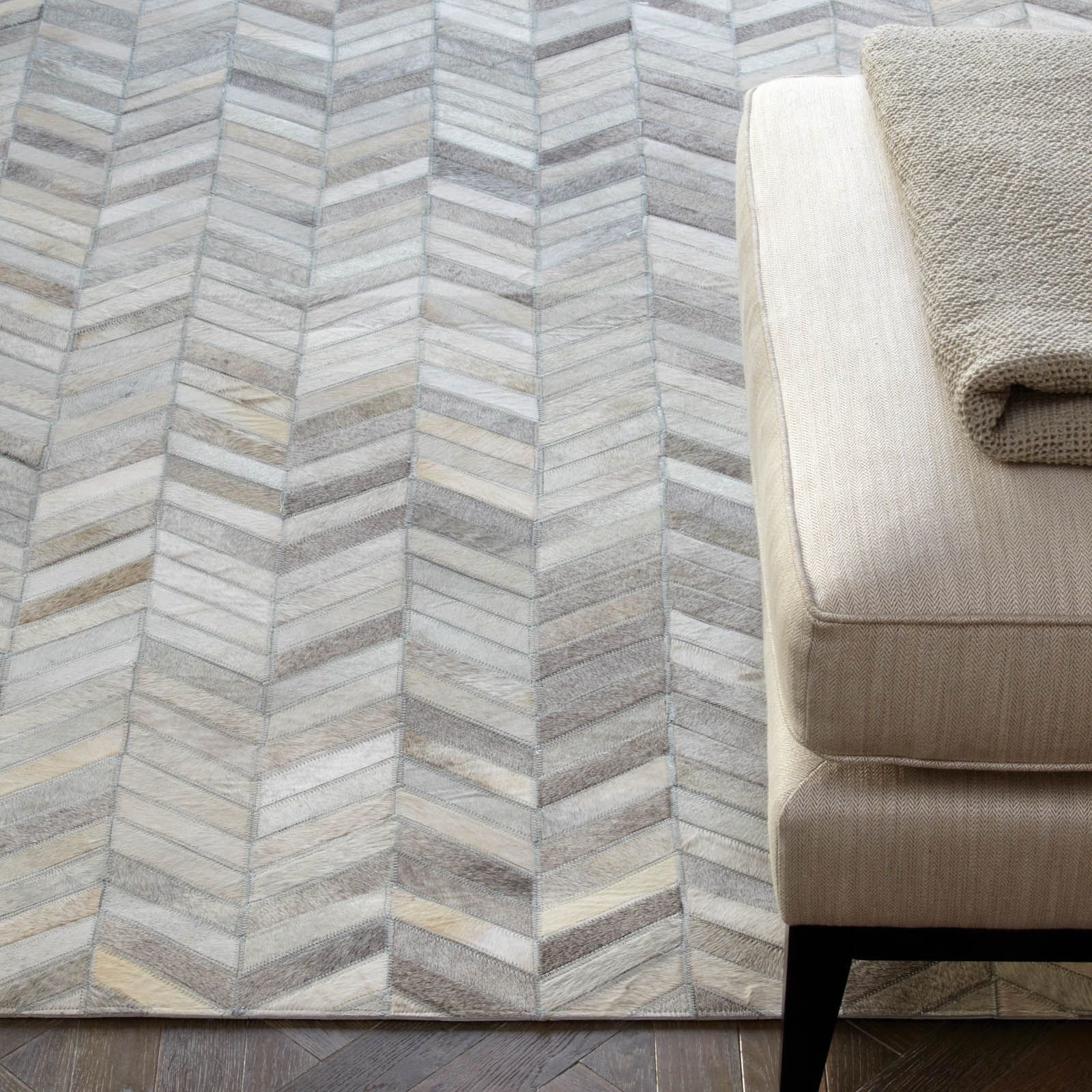 Gaucho Chevron Rugs In Natural Free Uk Delivery Chevron Rugs Leather Rug Buy Rugs