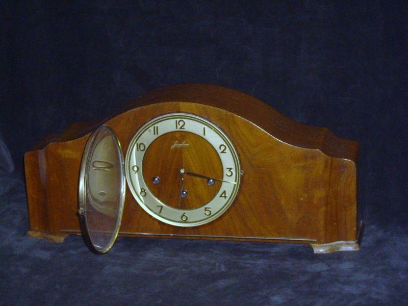 Vintage Junghan S Mantel Clock Westminster Chimes German