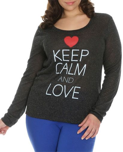 Keep Calm and Love Tee: http://www.wetseal.com/catalog/product.jsp?productId=62631