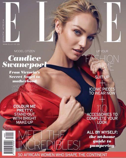 Elle UK, Candice Swanepoel, september issue